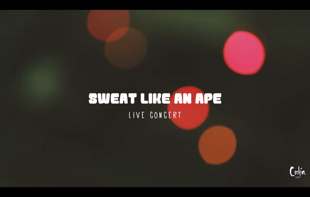 SWEAT LIKE AN APE